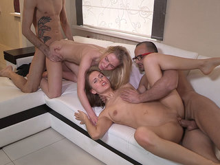 Sharing the fruit of group sex