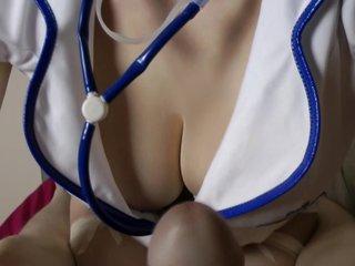 Naughty nurse's therapy