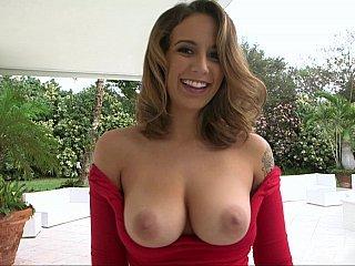 Layla's large tits